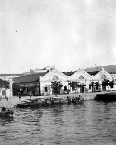1900s Kowloon Wharf and Godowns