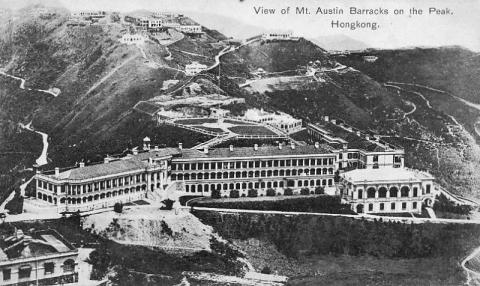 1910s Mount Austin Barracks