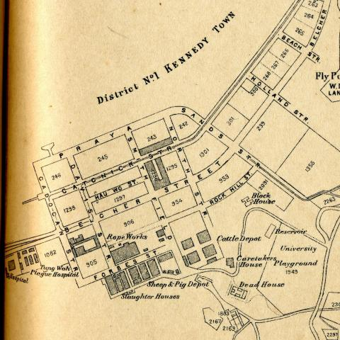 1924 Map of Kennedy Town