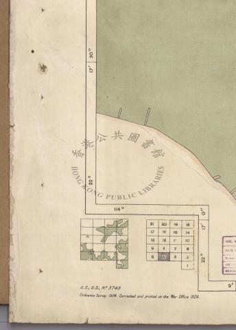 1924 Kowloon map - Quadrant 11