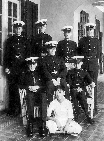 1937 Marine Police group photo