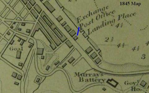 1845 Map (detail) Central