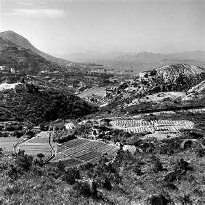 View Looking Downward from Jardine's Lookout Yr 1946?