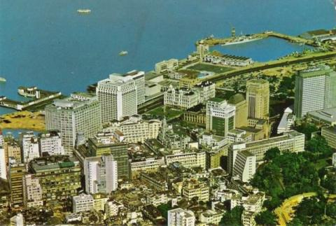 1963 Central Aerial View