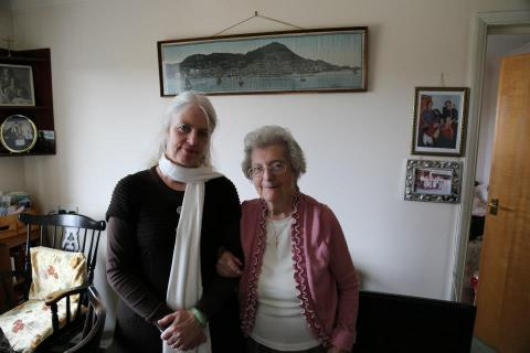 Barbara Anslow (the one on the right)