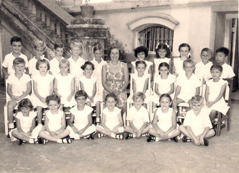 QUARRY BAY SCHOOL c1953 - School Group