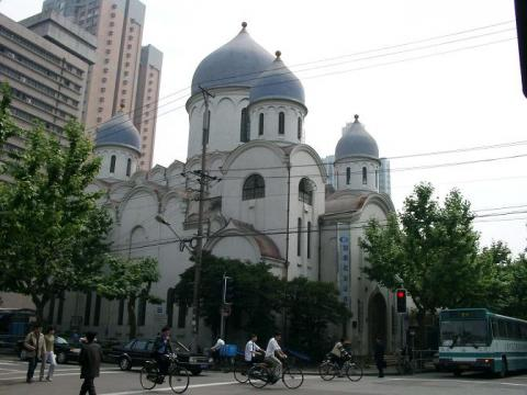 Cathedral of Our Lady the Warantress of the Sinful. Shanghai, China. A contemporary view