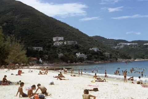 Repulse Bay Beach, 1972