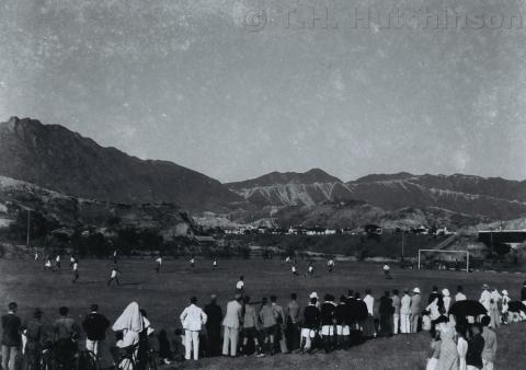 Army Sports Ground, Mongkok (3) 1937 - photo by Tom Hutchinson