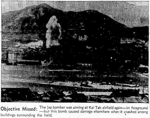 Air raid on Kai Tak
