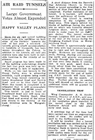 Clipping re ARP from SCMP, 19-Apr-1941