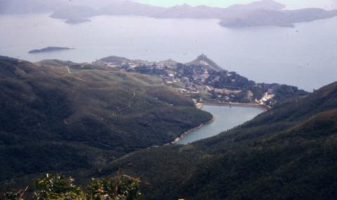 1950s Pok Fu Lam Reservoir, Fred Evans' Photos