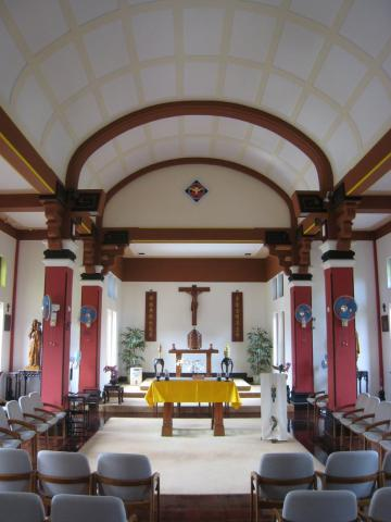 Maryknoll, inside the chapel