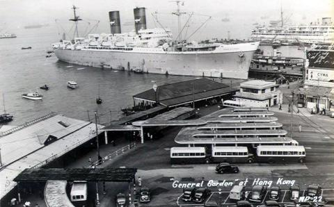 1950s Kowloon Star Ferry and APL General Gordon