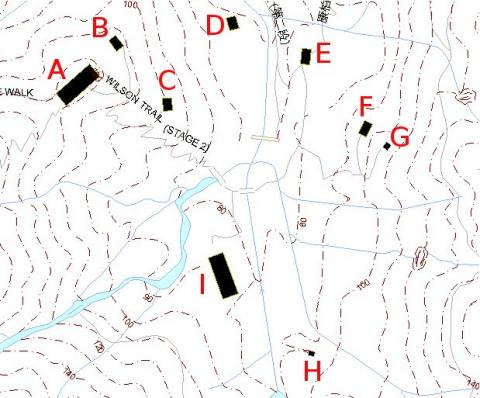 Map of area south of Kornhill
