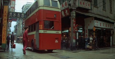 Enter the Dragon - Bus route