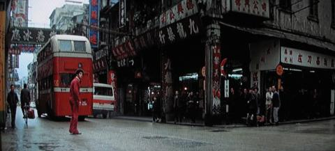 Enter the Dragon - opening credits Kowloon shophouses
