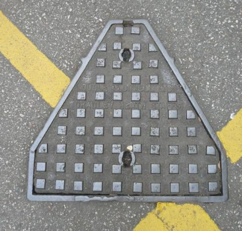 Dudley Dowell Inspection Cover (Irregular Shape)