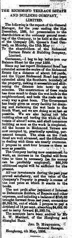 Richmond Terrace and Estate and Building Co.
