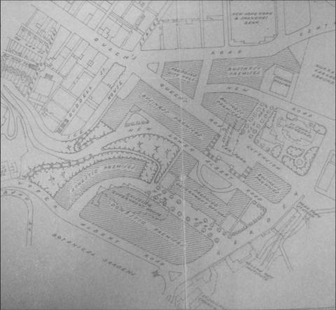 Government Hill redevelopment - proposed 1933