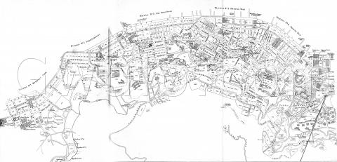1924 Map of Central & Western