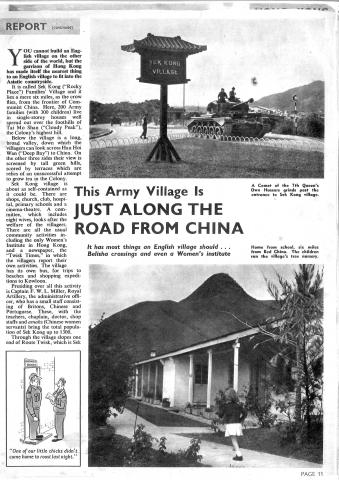 1957 Hong Kong Army article - page 11
