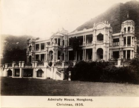 Admiralty House 1935
