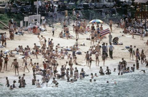Repulse Bay Beach-1969