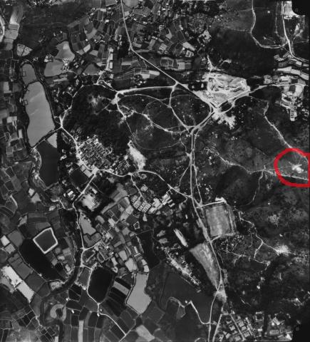 Ho Sheung Heung Aerial Photo 1976