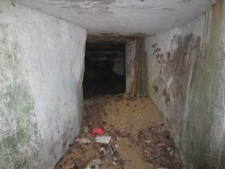 Corridor into the basement