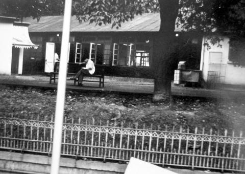 1950s Fred Evans' photos, Cheero Club, taken from tram