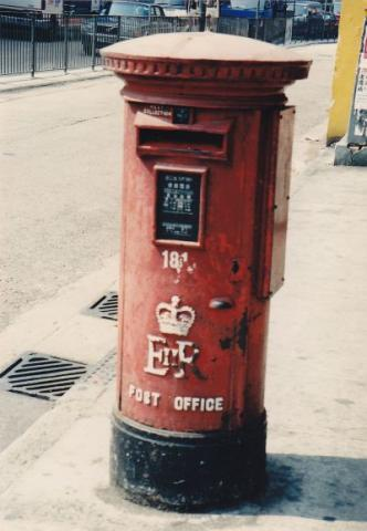Queen Elizabeth II Postbox No. 181