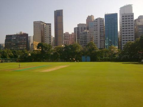 2010 Kowloon Cricket Club Grounds looking towards Austin Road