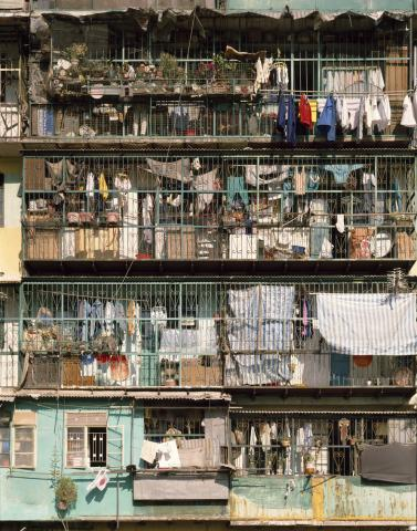 Kowloon Walled City - balconies #1