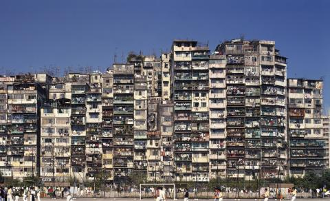 Kowloon Walled City - profile view