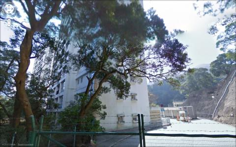 Mount Nicholson government quarters taken by the Google Street View car