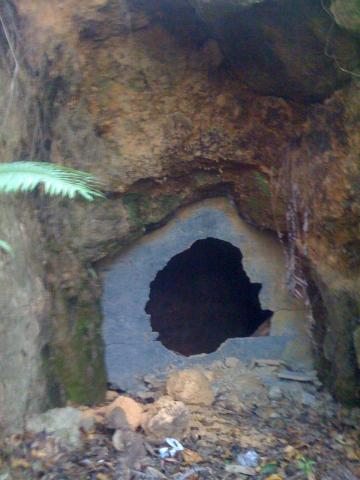 Mt Parker Jap Tunnel