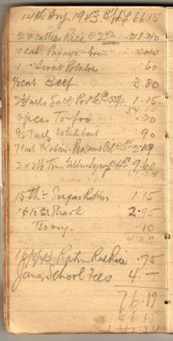 Tom Hutchinson's War Diary - Page 4