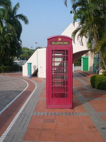 British Red Telephone Booths