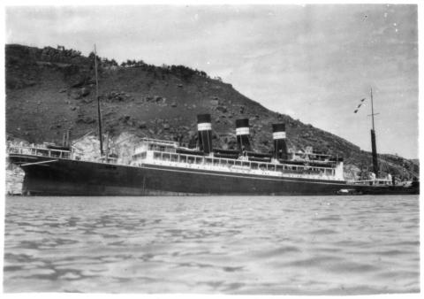 1937 SS Talamba off Devil's Peak