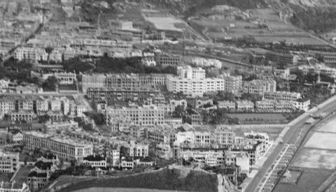 Chatham Road reclamation-Tsim Sha Tsui central area 1935