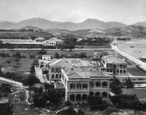 View of Hong Kong Observatory before 1902