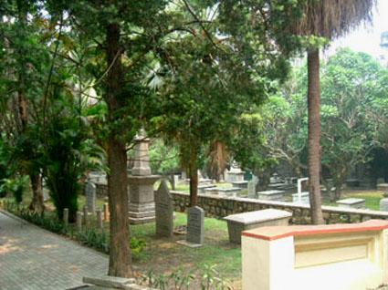 Upper section, Old Protestant cemetery, Macau