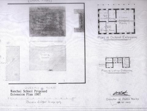 WGS Proposed Extension Plan 1907