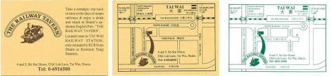 Railway-Tavern-Cards & Map