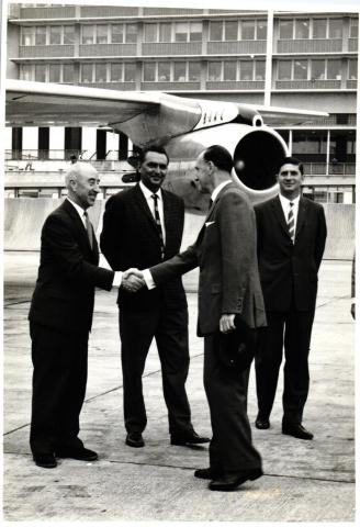 The Governor at Kai Tak