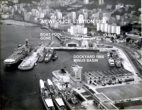 Police Station and environs 1966