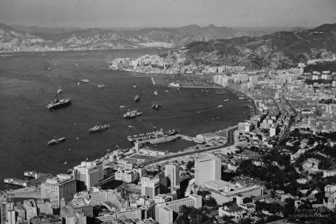 Central and Wanchai - 1960's