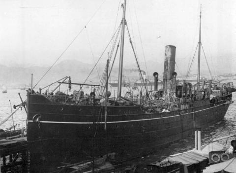 1929 SS Haiching after Pirate Attack