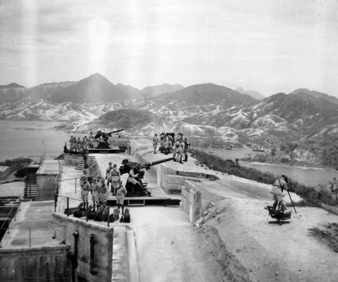 1938 Sai Wan Hill Battery